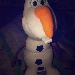 Olaf stuffed toy / piggy bank